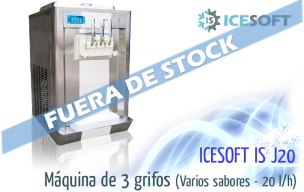 Máquina de helado IS-J20 (3 Grifos) Varios sabores