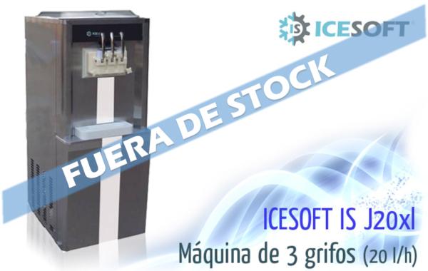 Máquina de helado IS-J20 XL (3 Grifos) Varios sabores