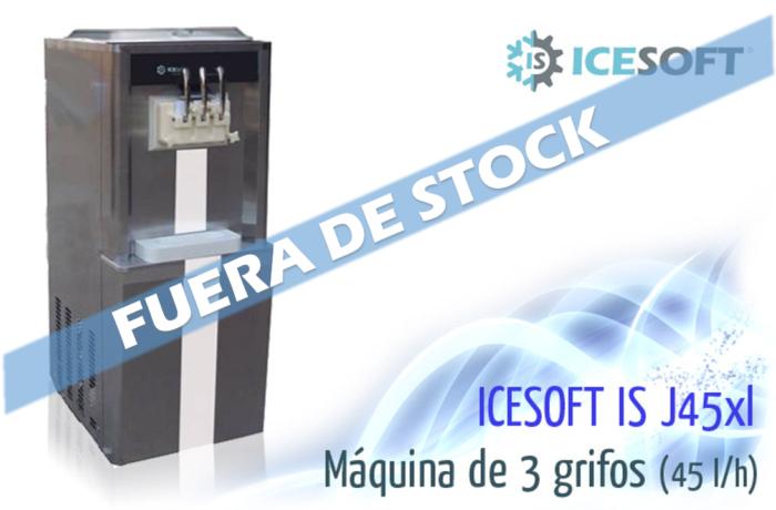 Máquina de helado IS-J45XL (3 Grifos) Alto rendimiento