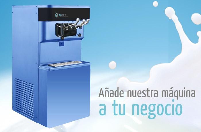 Máquinas de helado Icesoft para complementar tu negocio, bares, restaurantes, cines, etc…