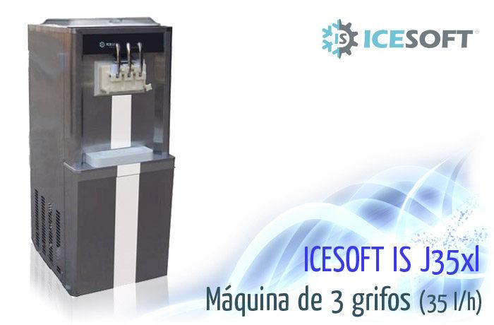 Máquina de helado IS-J35 XL (3 Grifos) Varios sabores