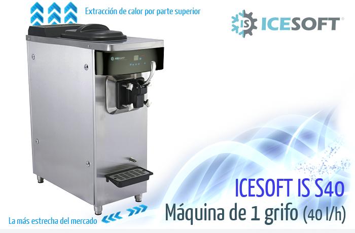 Máquina de helado IS-S40 (1 Grifo)