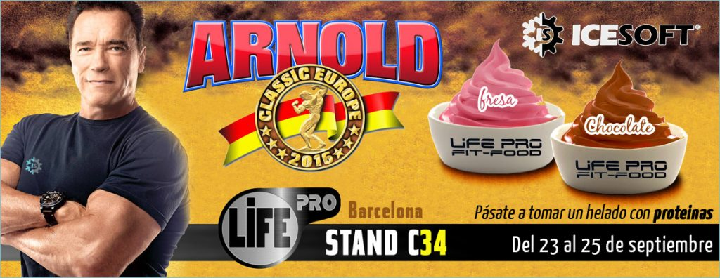 arnoldclassiceurope feria 2016 icesoft life pro