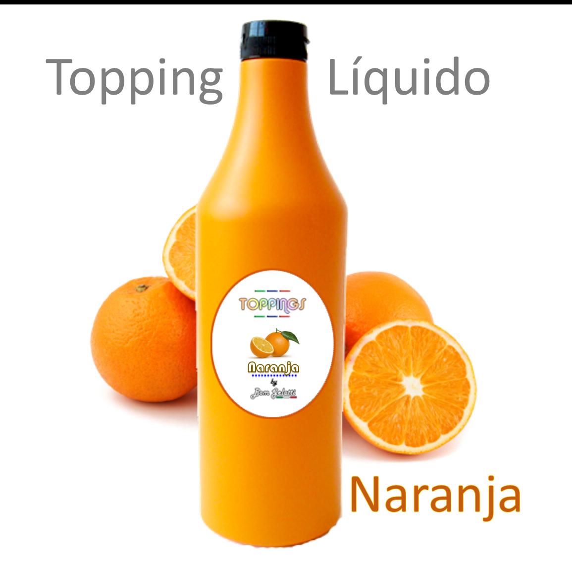 Comprar Topping Liquido De Naranja