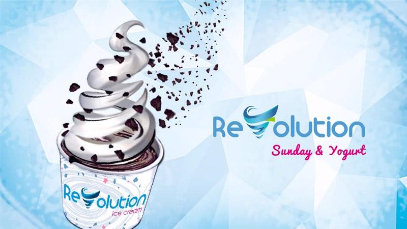 Maquinas mezcladora de helado y toppings