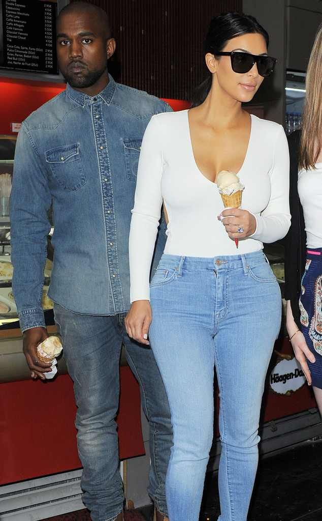 Kim Kardashian Y El Helado 1