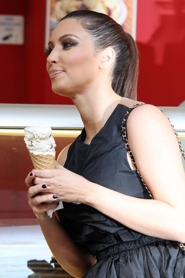 Kim Kardashian Y El Helado 10