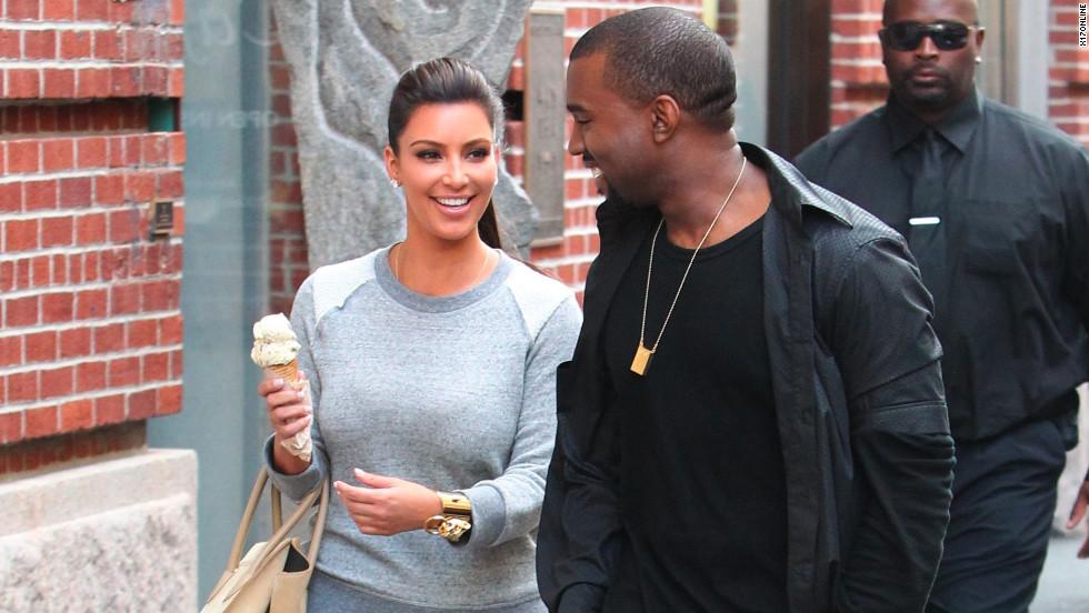 Kim Kardashian Y El Helado 12