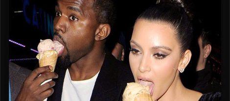 Kim Kardashian Y El Helado 13