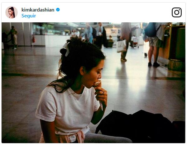 Kim Kardashian Y El Helado 3