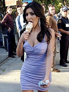 Kim Kardashian Y El Helado 4
