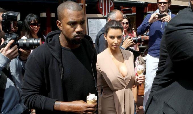 Kim Kardashian Y El Helado 7