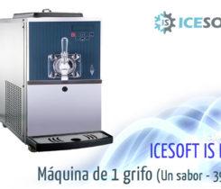 Maquina de helados alto rendimiento 1 sabor p39