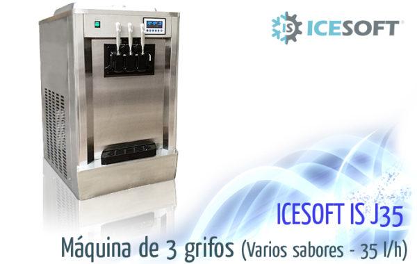 Máquina de helado IS-J35 (3 Grifos)