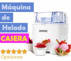 Maquinas helado Caseras Marca Fiable